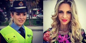 Foto: Anisa Zani, Polwan Cantik Albania Bikin Klepek-Klepek