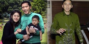 Foto Langka! Ibas Pakai Baju Lengan Pendek