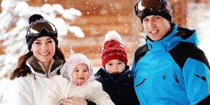 Foto Liburan Keluarga Pangeran William dan Kate Middleton