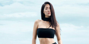 Foto Seksi Soyu Sistar Saat Pemotretan Untuk Cosmopolitan di Bali