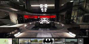 Google Street View Perlihatkan Detil Markas Mewah Batman