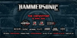 Hammersonic 2016 Digelar 16-17 April di Ancol