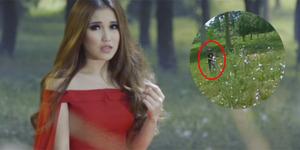 Heboh Ada 'Penampakan' di Video Klip Ayu Ting Ting Kekasihku