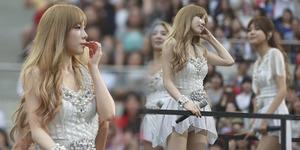 Heboh Foto Celana Dalam Tae Yeon SNSD Terekspos di Konser