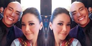 Heboh Maia Estianty Selfie Mesra Bareng Deddy Corbuzier