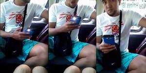 Intip Bagian Intim Wanita, Pria Mesum Lupa Matikan Flash Kamera