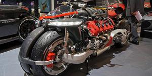 Lazareth LM847, Motor Mesin Supercar Harga Rp 2,8 Miliar