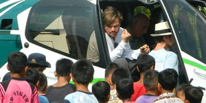 Leonardo DiCaprio Sambangi Taman Nasional Gunung Leuser Aceh