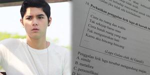 Lirik Lagu Galau Al Ghazali Jadi Soal Ujian Sekolah