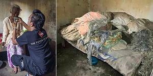 Mbah Gini, Penjual Sapu Lidi Asal Malang Tidur dengan Kotoran Ayam
