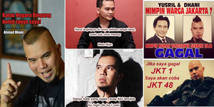 Meme Kocak Ahmad Dhani Maju Pilgub DKI 2017