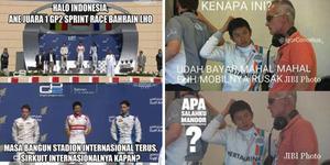 Meme Mengharukan Debut Rio Haryanto di F1