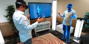 Microsoft Holoportation Perlihatkan Lawan Bicara Secara 3D