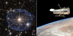 NASA Tangkap Gambar Gelembung Mengagumkan di Antariksa