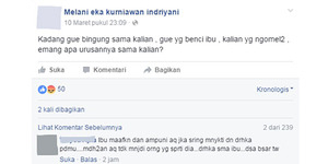 Netizen Geram, Cewek Ini Curhat Ingin Tendang Ibunya