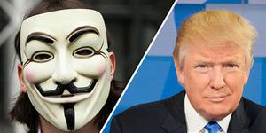 Perang Total, Anonymous Vs Donald Trump