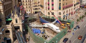 Pesawat Indonesia Disulap Jadi Restoran Mewah di China