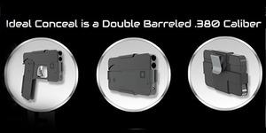 Pistol Bentuk Smartphone Segera Dipasarkan?