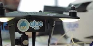 Qlue-Jek, Jasa Pengiriman Berbasis Drone Asli Indonesia