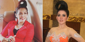 Saingi Syahrini, Elly Sugigi Naik Jet & Berjambul Khatulistiwa