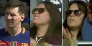 Tendangan Messi Nyaris Patahkan Tangan Cewek Fans CR7