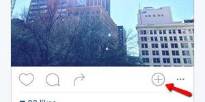 Tombol 'Plus' di Instagram Indikasi Fitur Baru?