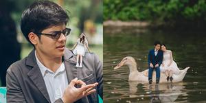 Unik, 15 Foto Prewedding Manusia Kerdil