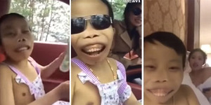 Video: Heboh! Chen Shan, Miliarder Cilik Punya 20 Pacar Seksi