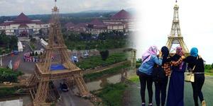 Warga Minta 'Menara Eiffel' di Tasikmalaya Dibongkar, Ini Sebabnya