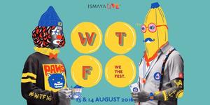We The Fest 2016 Dihelat 13-14 Agustus