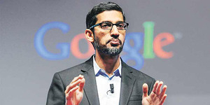 Wow! Bos Google Setahun Dibayar Rp 1,3 Triliun