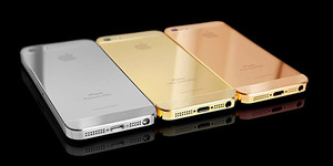 Wow! iPhone SE Berlapis Emas & Berlian Dijual Rp 1 Miliar