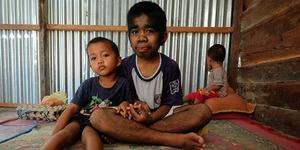 Bocah Kalimantan Dipuja Sebagai Dewa Hebohkan Dunia