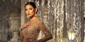 Foto Anindya Kusuma Putri Anggun & Seksi Bergaun Transparan