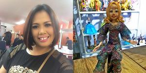 Foto Boneka Barbie Mirip Elly Sugigi di Bali