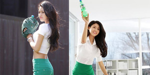 Foto Cantik Seksi Seolhyun AOA di Iklan Sprite