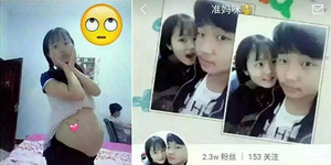 Foto Gadis Imut Sedang Hamil Gegerkan Netizen