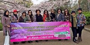 Foto Istri Anggota DPR Pelesiran ke Jepang, Ada Istrinya Fadli Zon