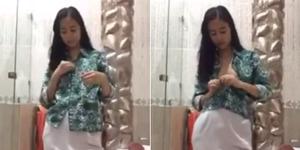 Giliran Video Hot 'Salam Batik' Bikin Heboh Netizen
