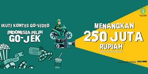 Go-Jek Bikin Kompetisi Video, Hadiahnya Rp 250 Juta