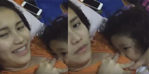 Heboh Video Ayu Ting Ting Sedang Menyusui Anaknya