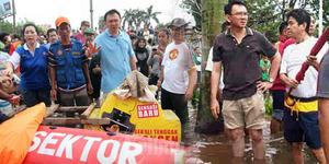 Jakarta Kebanjiran, Ahok Pecat Semua Penjaga Pintu Air!