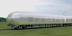 Jepang Rancang Kereta Transparan Pertama di Dunia