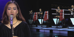 Keren, Video Gloria Jessica di The Voice Indonesia Ditonton 1,8 Juta Kali