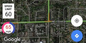 Kini Google Maps Bisa Tampilkan Speedometer
