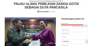 Muncul Petisi Tolak Zaskia Gotik Jadi Duta Pancasila