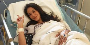 Operasi Tumor Payudara Pevita Pearce Berjalan Lancar