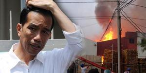 Pabrik Mebel Jokowi di Sragen Kembali Terbakar