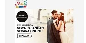 Pertama di Indonesia, Matahari Mall Tawarkan Pacar Sewaan