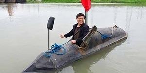 Petani China Bikin Kapal Selam Cuma Habis Rp 10 Juta